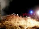 Pożar stodoły - Urbanowo 5 grudnia 2009