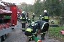 Ćwiczenia ratownictwa ekologicznego - Wierzyca - 5 października 2010