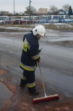 W pracy - strażak, po godzinach strażak ochotnik